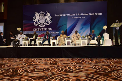 I had the pleasure of speaking at the 1st Annual Chevening Alumni Leadership Summit.