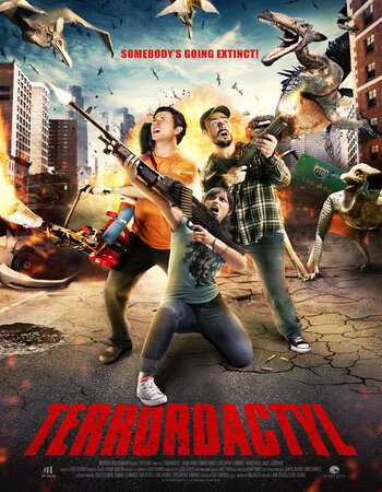 Terrordactyl (2016) Dual Audio Hindi 720p WEB-DL 800MB ESubs