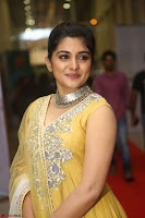 Nivetha Thamos in bright yellow dress at Ninnu Kori pre release function ~  Exclusive (43).JPG