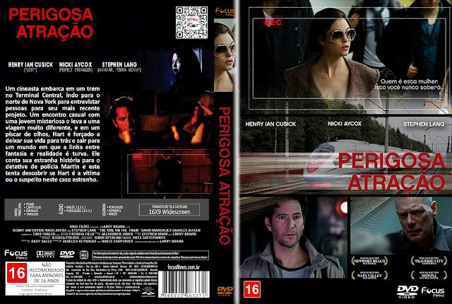 Capa DVD Perigosa Atração [Custom]