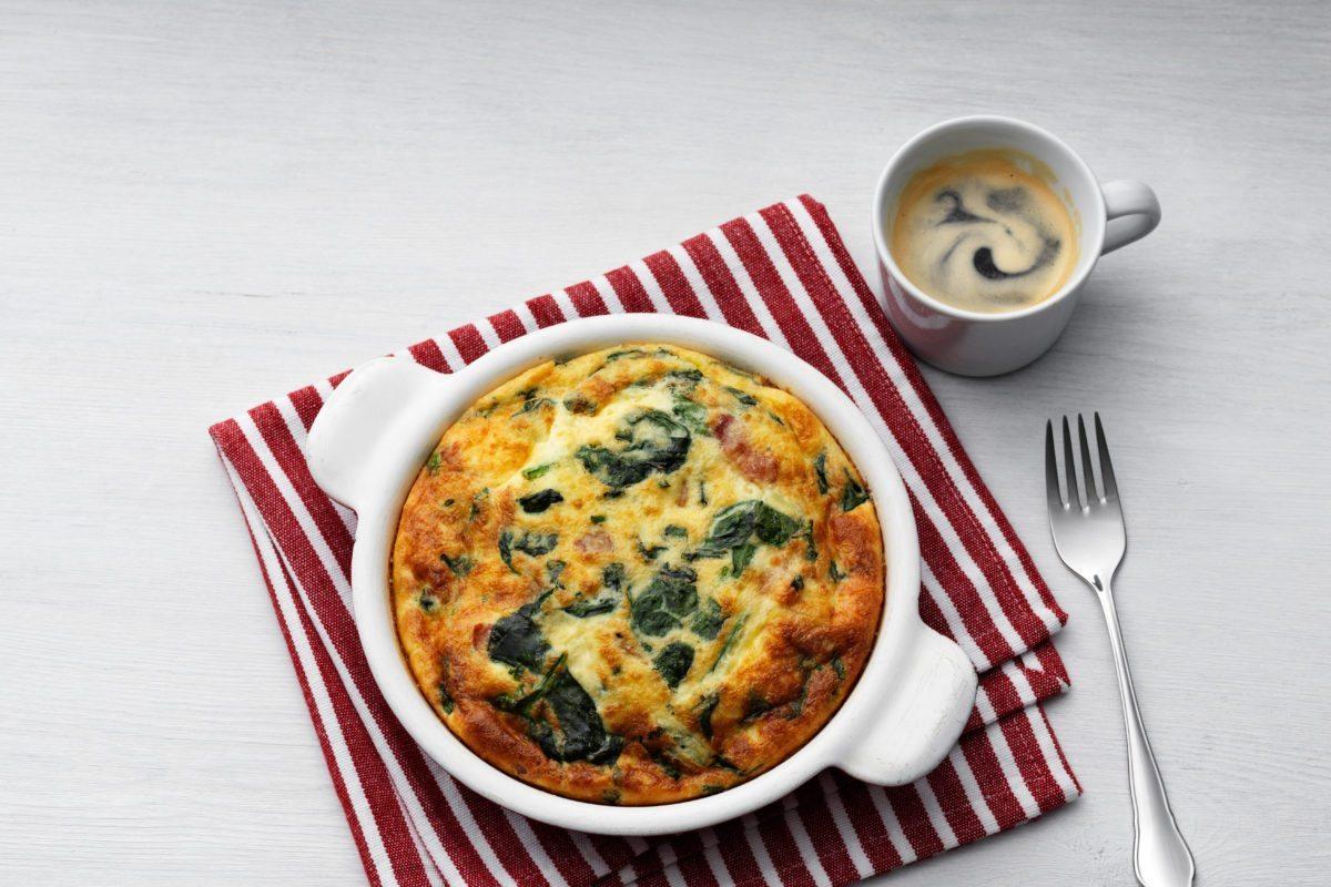 Omelette and Frittata Recipes SpinachfrittataDD