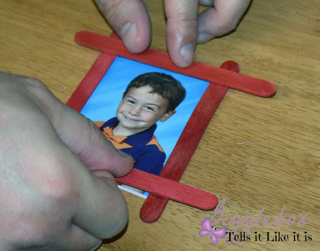homemade Christmas ornaments, Christmas ornaments, puzzle piece photo frame Christmas ornament, creative way to use the wallet size school pictures, Christmas, Christmas DIY,