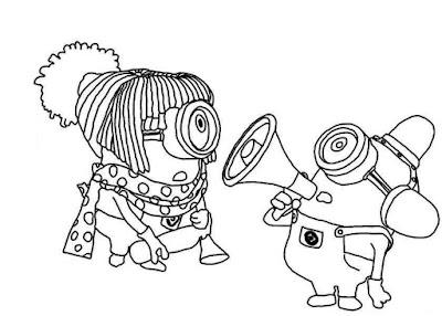 Imágenes para colorear, dibujos animados para pintar