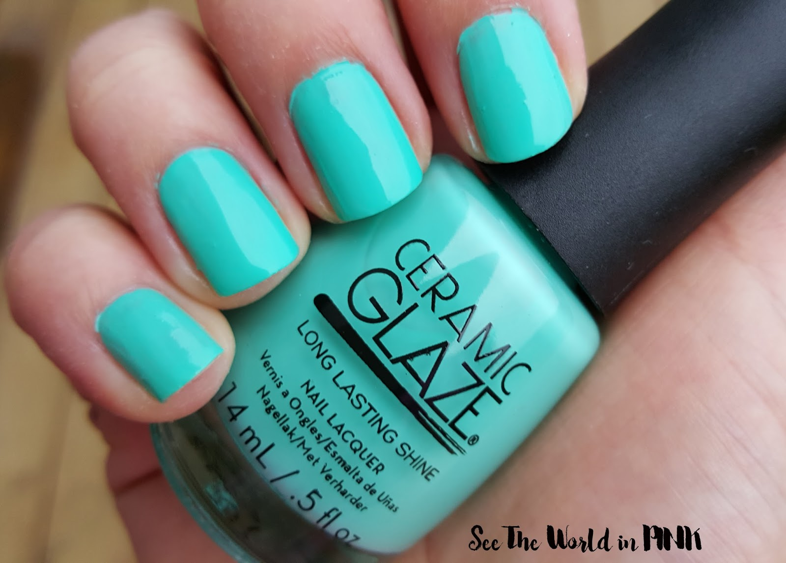 Ceramic Glaze Surf's Up Limited Edition Botanical Oasis Collection Swatches and Reviews