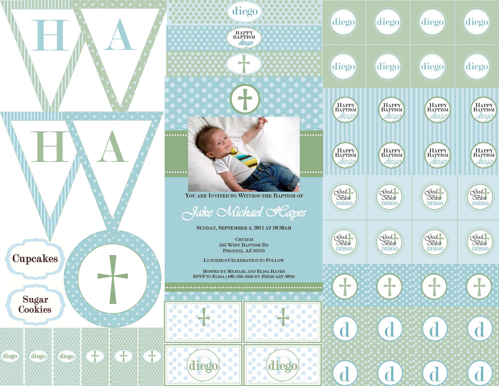 The Sugar Bee Bungalow Printable Collections