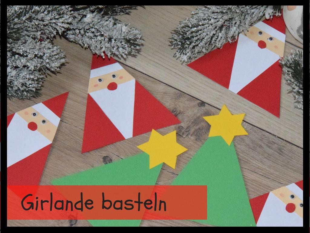 Familie Und Mehr Weihnachtliche Girlande Furs Kinderzimmer