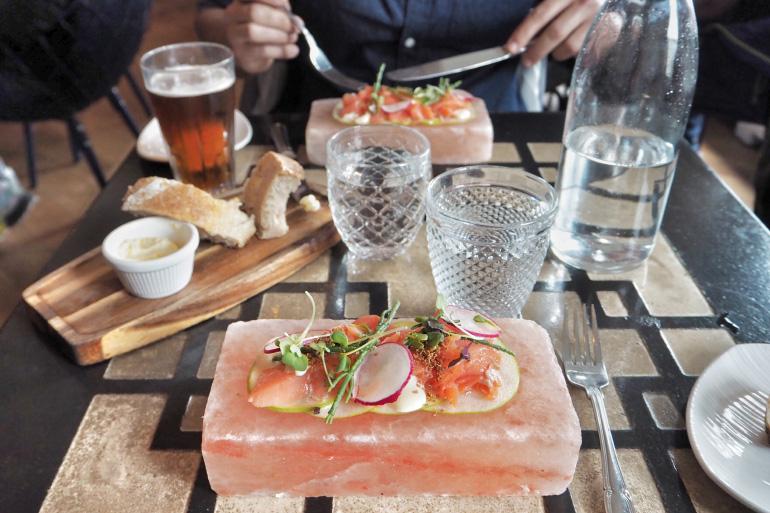 Gastronomie Islandaise - Apotek restaurant à Reykjavik
