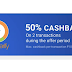 Komparify Cashbacks are back Earn 50% Cashback upto 10 Twice Per User
