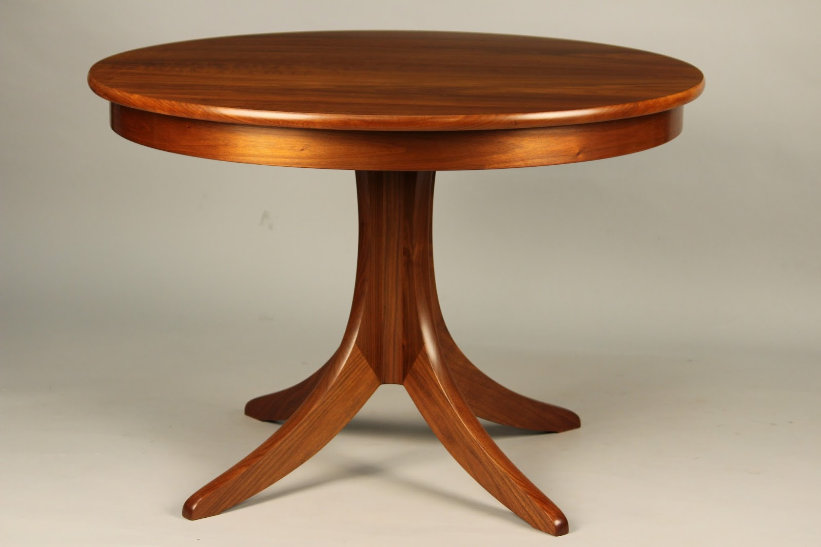 Finest pedestal table best hardwood walnut