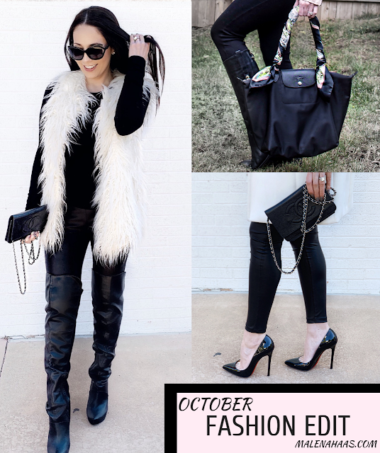 Sharing my version of fall trends in the October Fashion Edit www.MalenaHaas.com