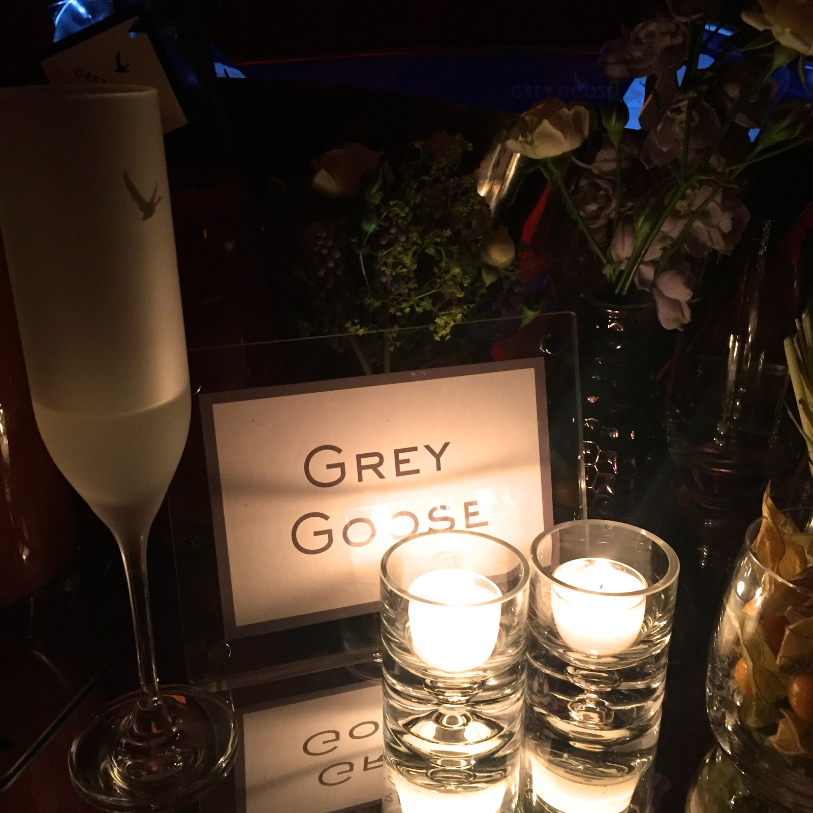 Grey Goose table at the BAFTA's Harvey Weinstein Afterparty 2016
