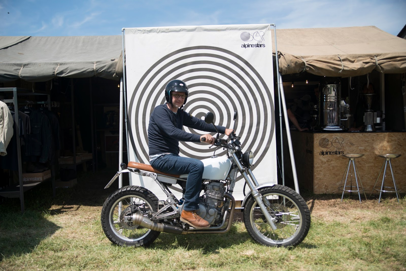 During the festival people brought their bike to the tent for a photo opp! & OSCAR by Alpinestars: WHEELS AND WAVES 2016 - IT JUST GETS BETTER ...