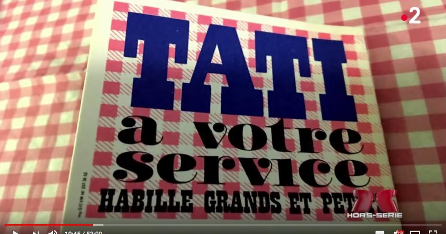 en ligne obtenir de nouveaux réflexions sur Docu vidéo : l'histoire de Tati, ou comment un mauvais ...