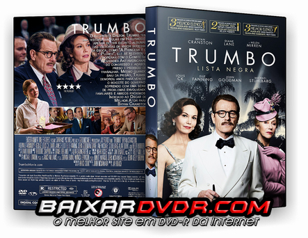 TRUMBO – LISTA NEGRA (2016) DUAL AUDIO DVD-R OFICIAL