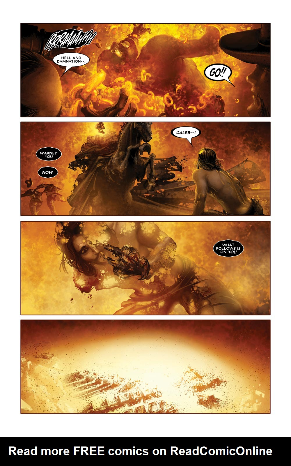Read online Ghost Rider: Trail of Tears comic -  Issue #6 - 11