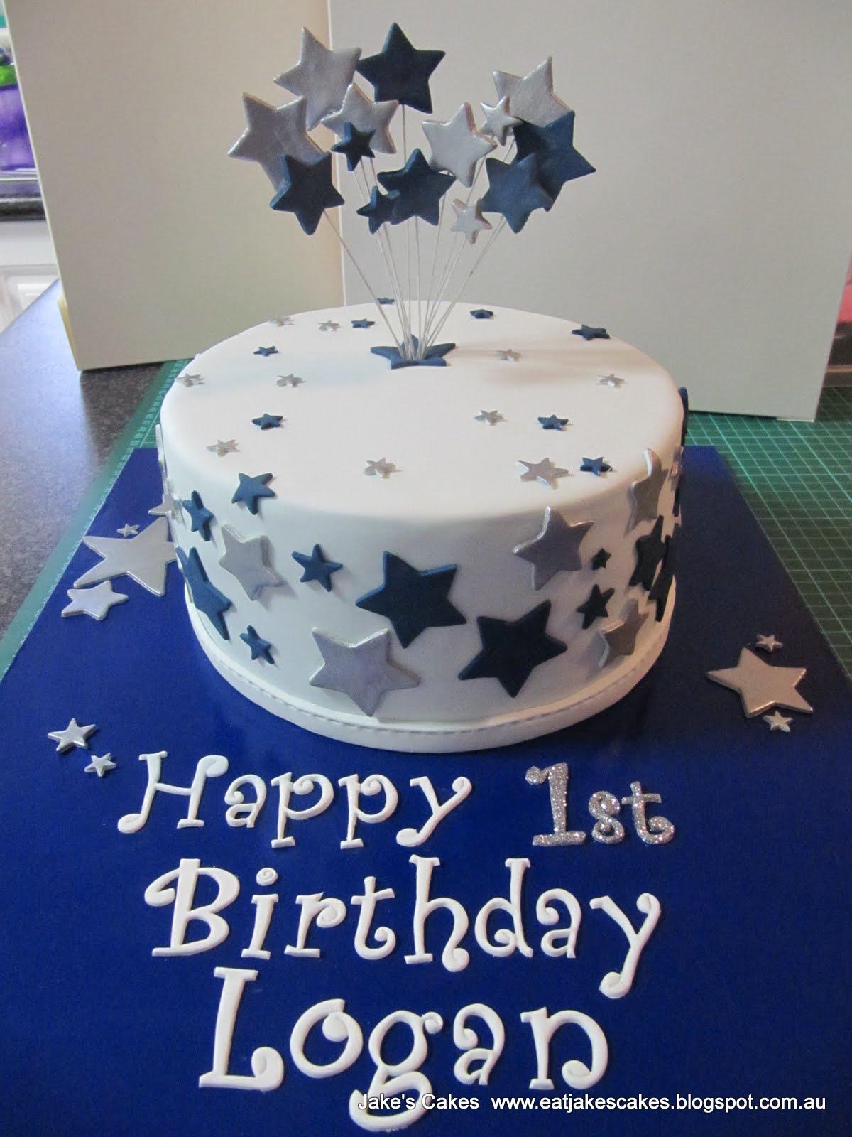 Jake S Cakes Star First Birthday Cake