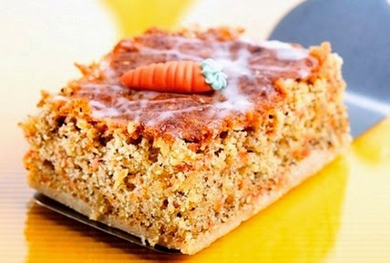 Torta de zanahoria en microondas