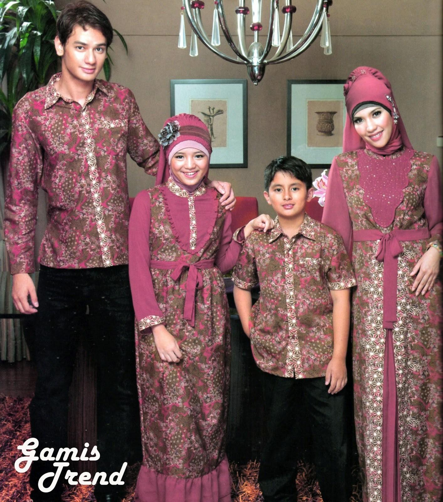 Kumpulan Model Gamis Batik Kombinasi Modern, Simple, Elegan dan