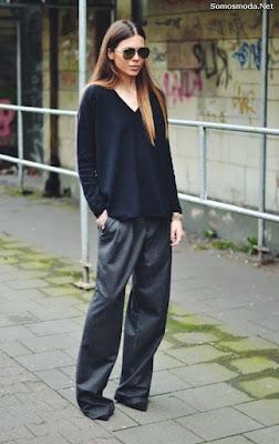Pantalones de moda de vestir