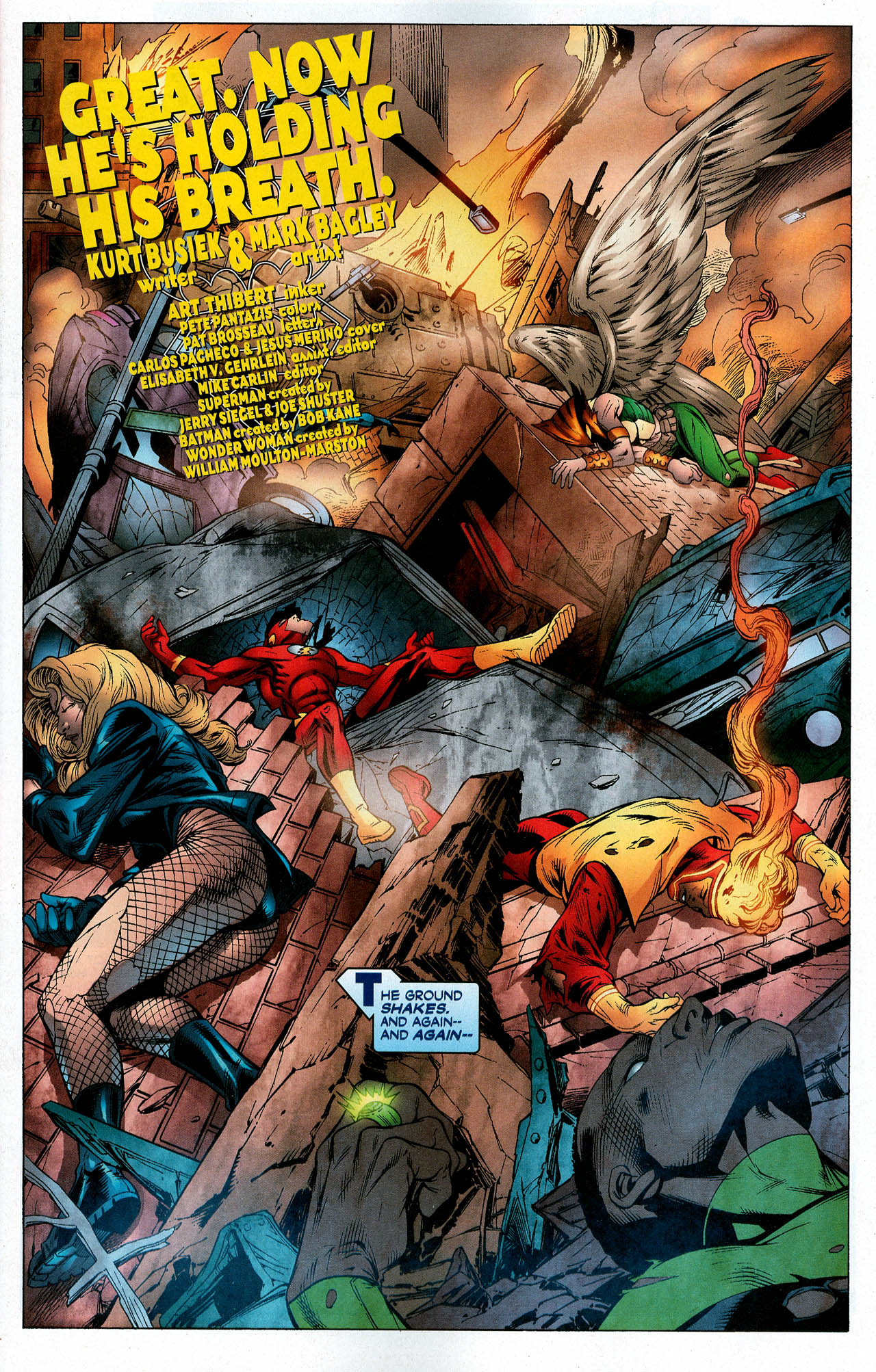 Read online Trinity (2008) comic -  Issue #5 - 3