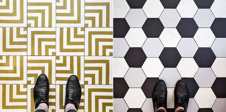 Fotografía de pisos de París te inspirará a mirar hacia abajo
