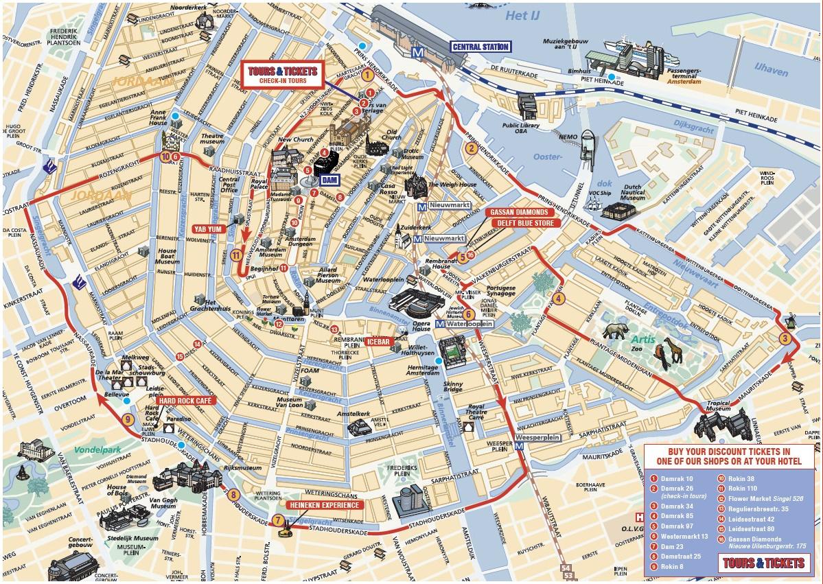 mapa amesterdao Mapa Amesterdão | thujamassages mapa amesterdao