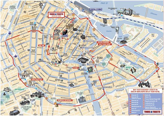 Melhor localização para se hospedar em Amsterdã