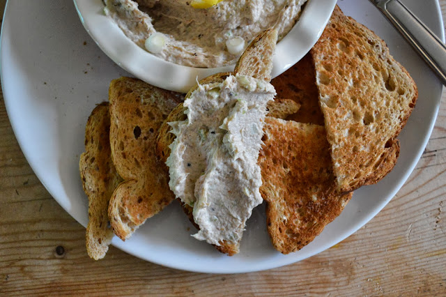 Smoked Mackerel Pate on Toast