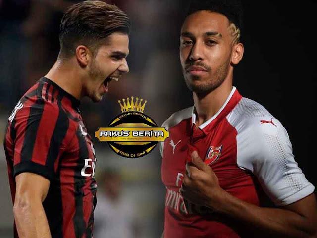 Hasil Drawing Liga Europa 2017/18, AC Milan Bertemu Arsenal