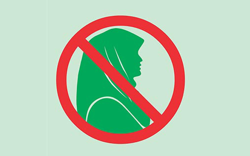 11 Negara yang Melarang Penggunaan Hijab