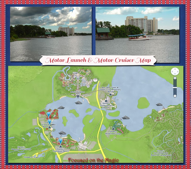 Motor Launch & Motor Cruiser Map