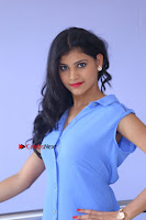 Telugu Actress Mounika UHD Stills in Blue Short Dress at Tik Tak Telugu Movie Audio Launch .COM 0067.JPG