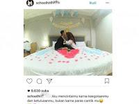 Viral DI instagram !! Sepasang Pelajar Ini Rayakan Ultahya Di kamar , Eh Udah Nikah Belum ya  , Ini Foto - Fototnya