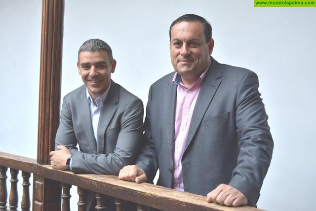 El Cabildo agradece a la Consejería de Agricultura del Gobierno de Canarias su colaboración en el fomento del cultivo del café en La Palma - José Basilio Pérez y Narvay Quintero Marzo 2019