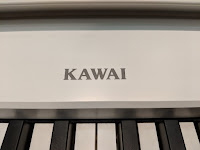 Kawai Digital piano pictures of cabinet and control panel