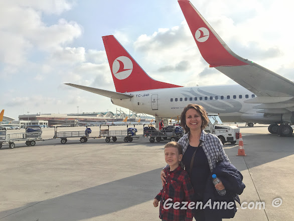 Trabzon'a Anadolu Jet ile uçtuk