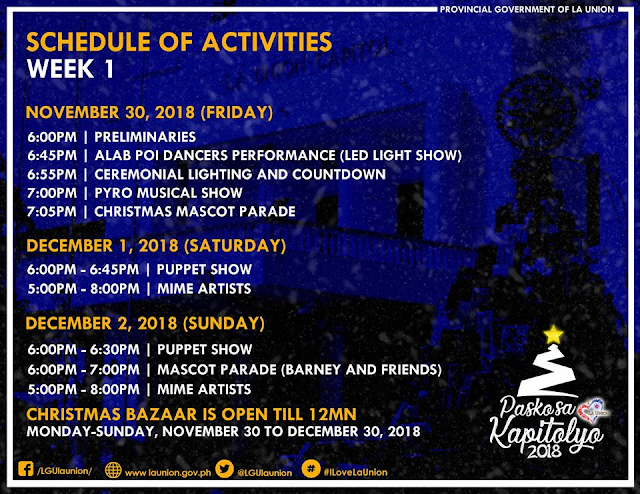 THINGS TO DO IN LA UNION PASKO SA KAPITOLYO