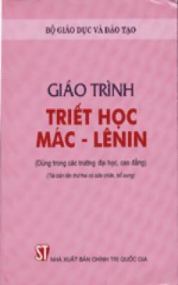 Giáo trình triết học Mác - Lênin - Nguyễn Ngọc Long, Nguyễn Hữu Vui