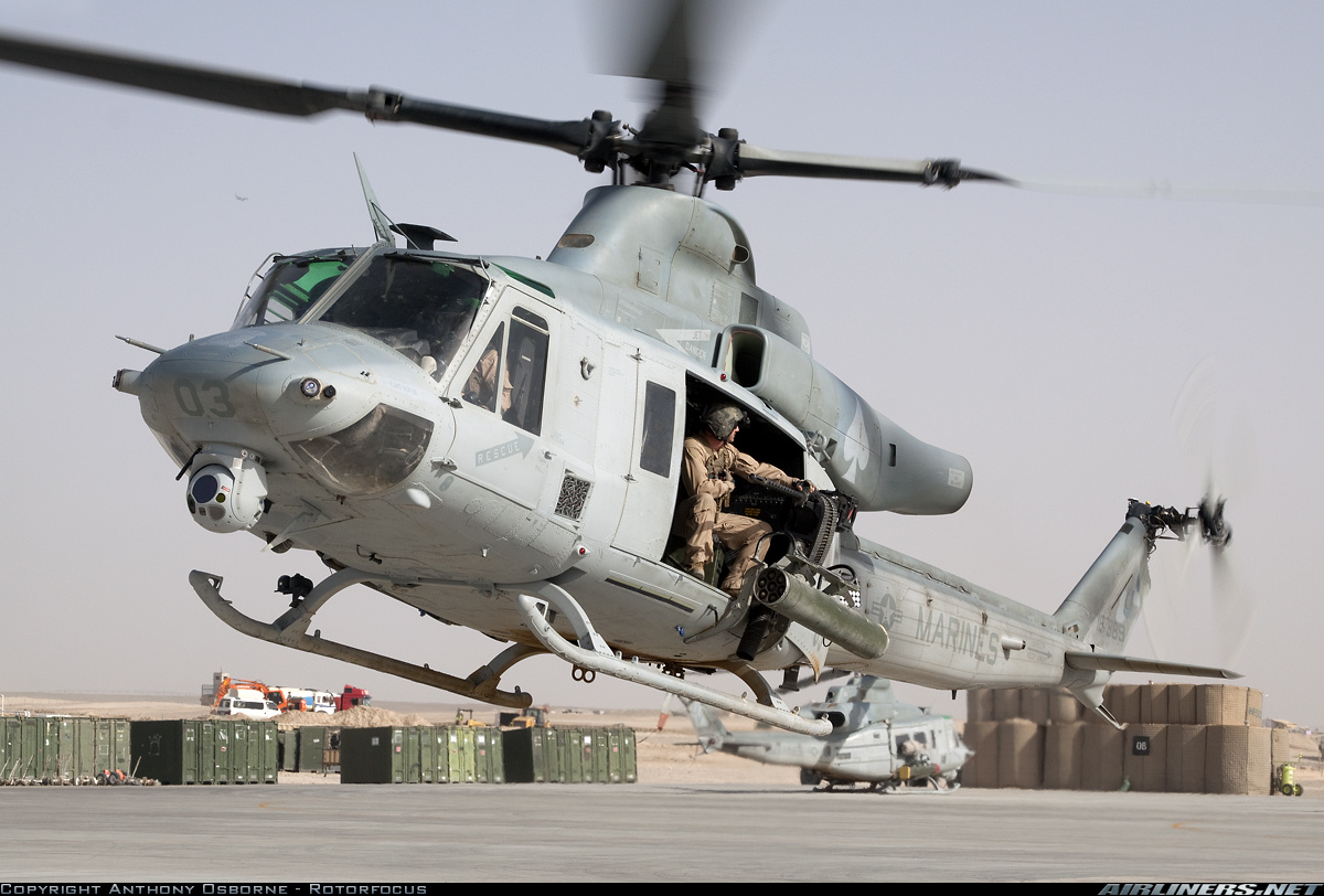Military and Commercial Technology: UH-1Y Huey Utility