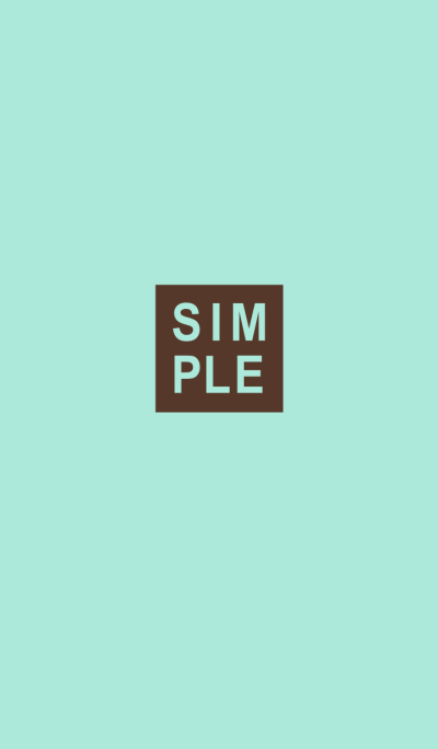 SIMPLE SEAL(chocolate mint)V.16b