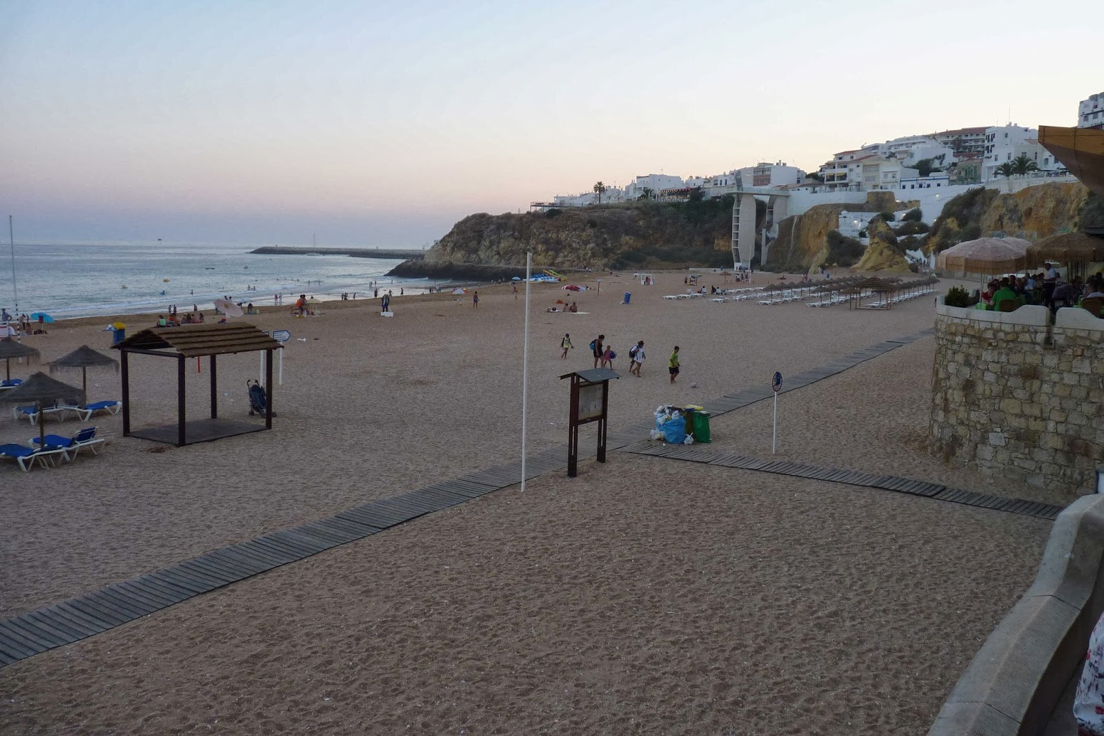 Albufeira, Playa de los Pescadores.