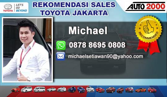 Rekomendasi Sales Toyota BSD Tangerang Selatan