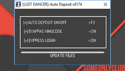 Cheat Ayodance Auto Deposito 6174
