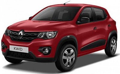 Renault Kwid 1.0 MT left side front look