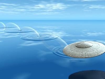 Kenneth Arnold's Description of Flying Saucer