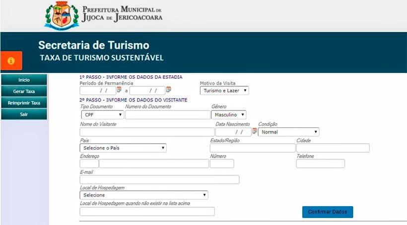 Taxa de turismo em Jericoacoara: como gerar e pagar o boleto