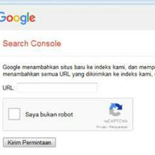Cara Mudah Submit Artikel Postingan di Google Webmaster Tools