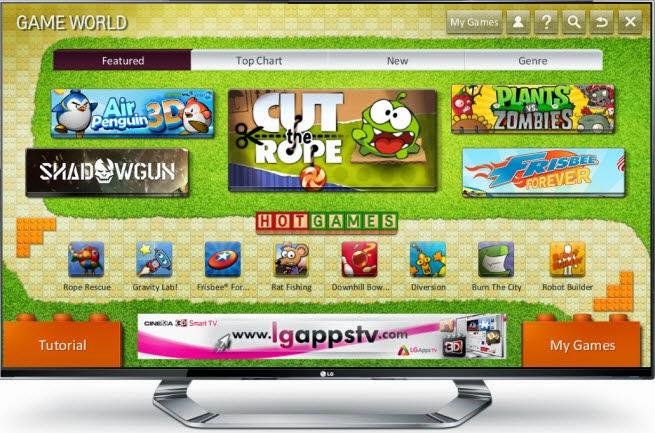 i Migliori Giochi Gratis per la Smart TV LG