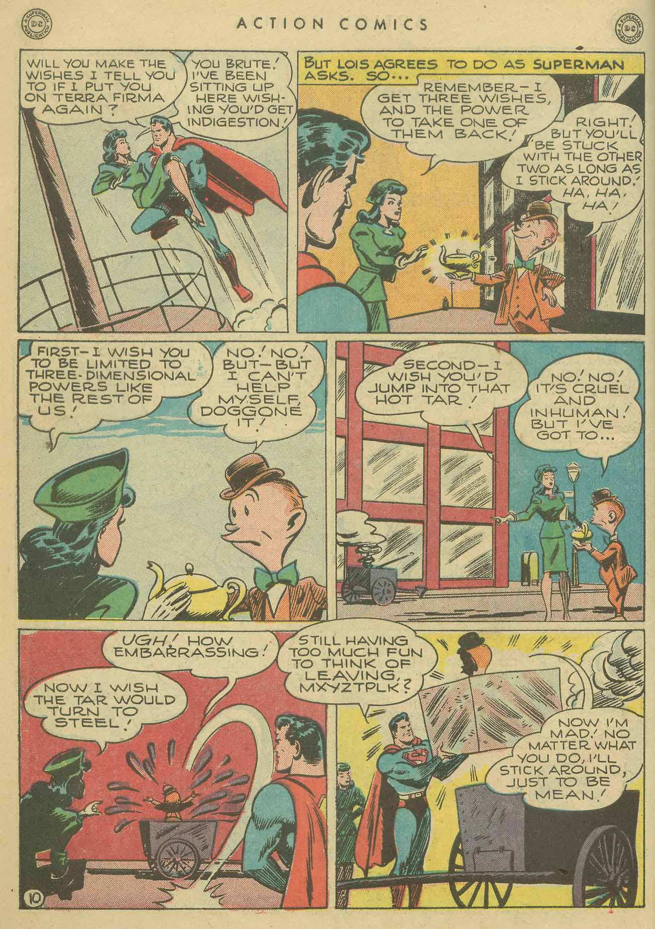 Read online Action Comics (1938) comic -  Issue #102 - 11