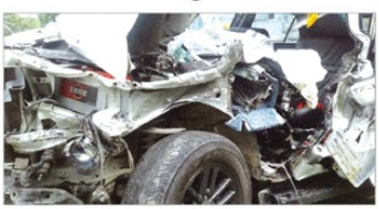 Sikkim Assembly Dy Speaker faces narrow escape in major road accident in Siliguri
